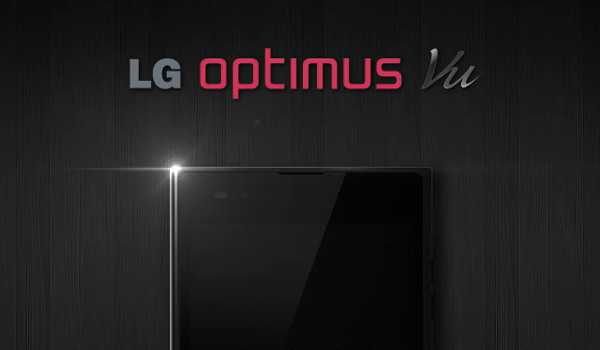 LG показала смартфон Optimus Vu