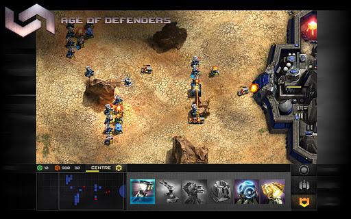 Age Of Defenders - кросплатформенная Tower Defense игра для планшетов Android