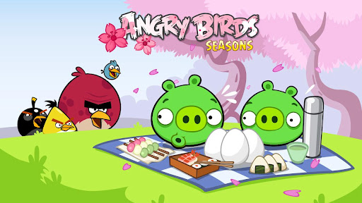 Обновление Angry Birds Seasons: празднуем приход весны