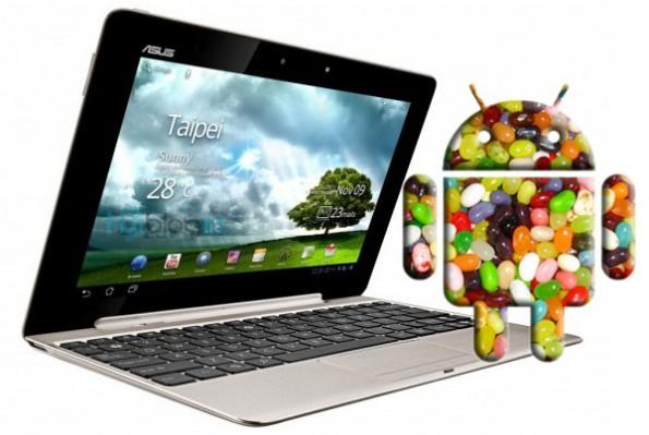 ASUS пообещала выпустить первое устройство с Android Jelly Bean