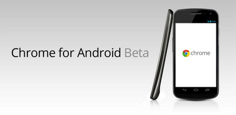 Обновление Chrome для Android: поддержка Beam, увеличение скорости и прочее
