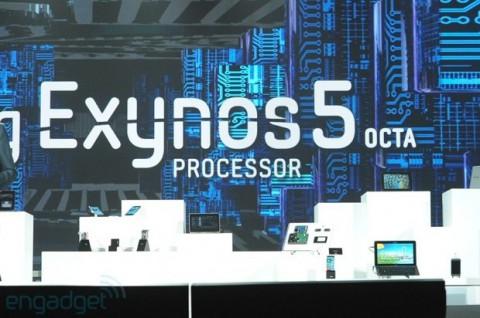 CES 2013: Samsung представила 8-ядерный процессор Exynos 5 Octa