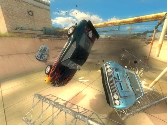 Игра Flatout выйдет для устройств с процессорами NVIDIA Tegra