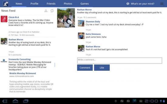 скачать приложение фейсбук на планшет бесплатно - фото 5