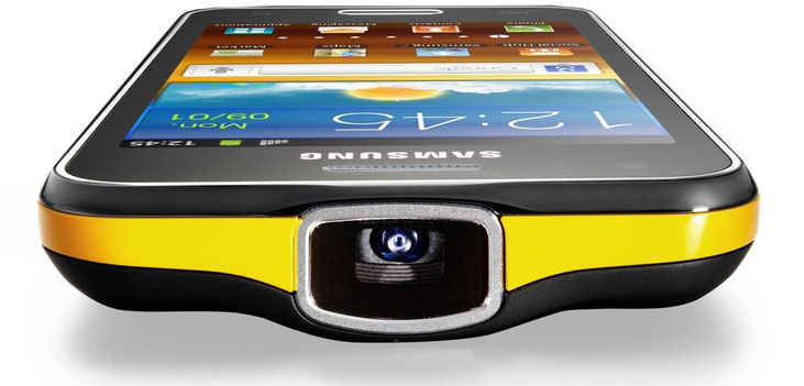 MWC 2012: Samsung Galaxy Beam со встроенным проэктором