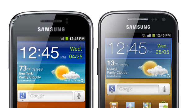 Samsung анонсировала смартфоны Galaxy Ace 2 и Galaxy Mini 2