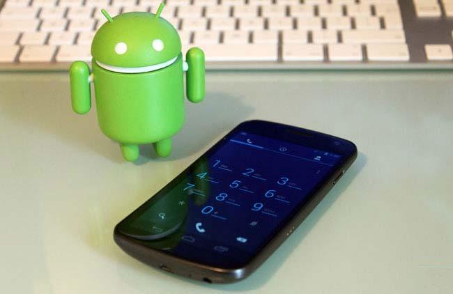 Google готовит версию Android 4.0.5