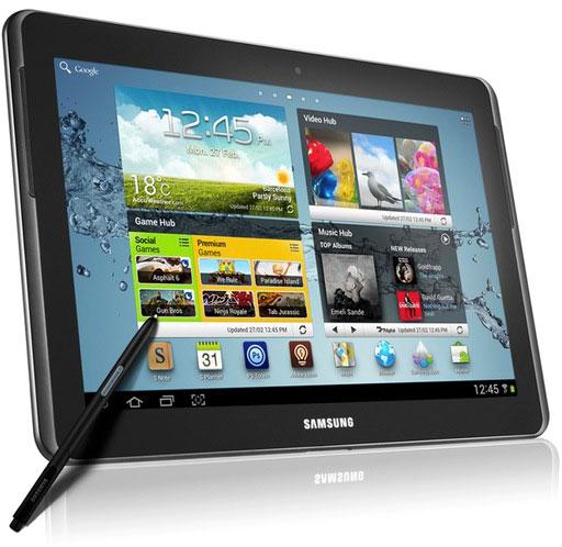 MWC 2012: Samsung представила планшет Galaxy Note 10.1