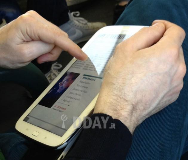 Живые изображения планшета Note 8.0 попали в сеть