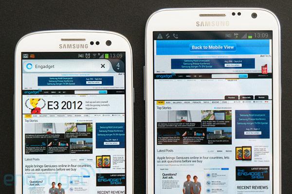 Первая информация о смартфоне Galaxy Note 3