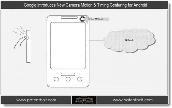 Google подает патентную заявку на новый способ управления мобильными устройствами