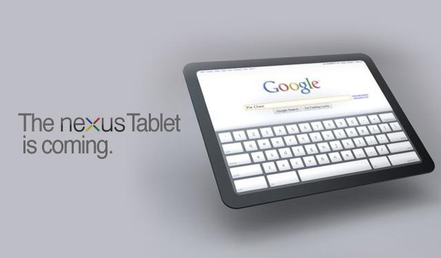 Планшет от Google выйдет в течении шести месяцев