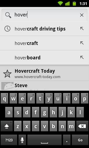 Обновления приложения Google Search