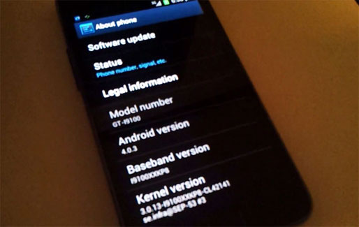 Samsung официально начал обновлять Galaxy S II до Android 4.0