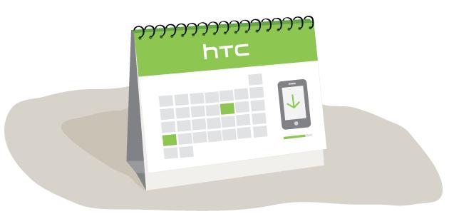 HTC опубликовала список обновляемых до Android 4.0 устройств