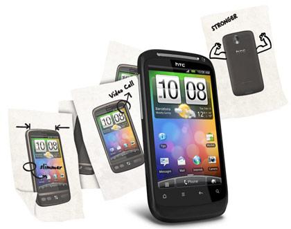 Для HTC Desire S стала доступна прошивка Runnymede