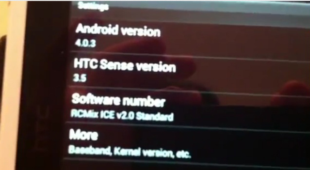 Прошивка Android Ice Cream Sandwich для HTC Flyer