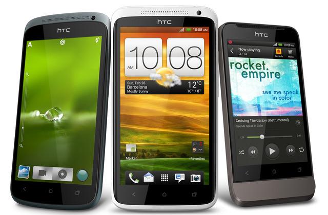 MWC 2012: HTC показала смартфоны One X, One S, One V