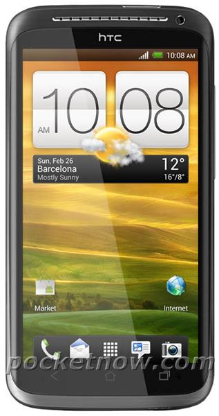 Новое изображение смартфона HTC One X