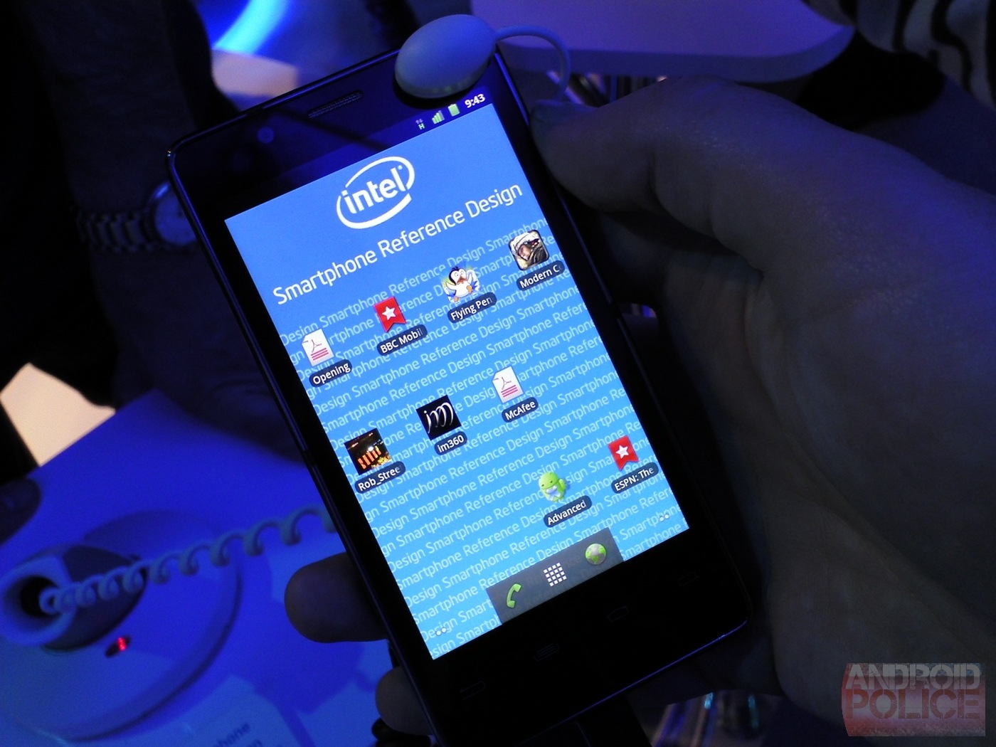 CES 2012: смартфон от Intel на процессоре Medfield