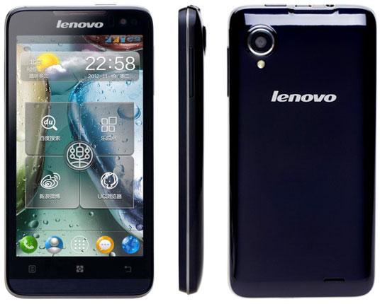 Lenovo представила смартфон P770 с усиленной батареей