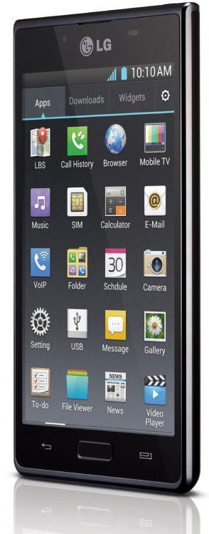 MWC 2012: смартфоны Optimus L7, L5 и L3 от LG