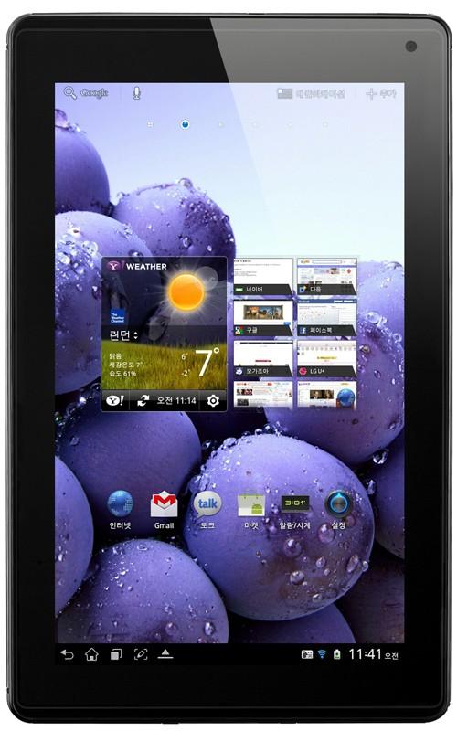 LG анонсировала Optimus Pad LTE