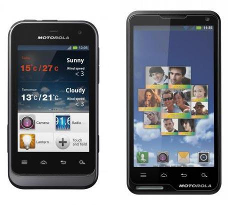 CES 2012: взгляд на Motorola Motoluxe, DEFY Mini, XT917, XT928