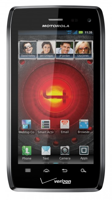 CES 2012: Motorola представила смартфон Droid 4