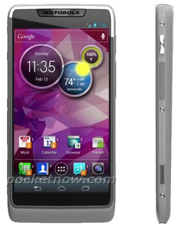 Информация о новом смартфоне Motorola с процессором Intel Medfield