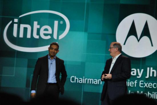 CES 2012: Motorola выпустит смартфон с процессором Intel