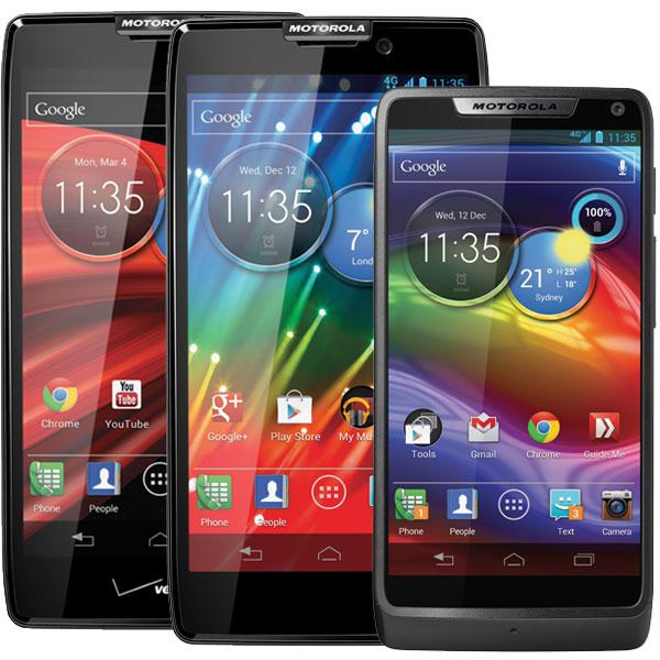 Новинки от Motorola: RAZR M, RAZR HD и DROID MAXX HD
