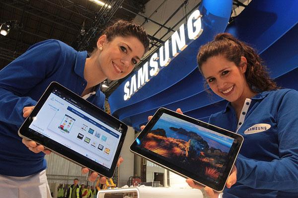 Новый планшет от Samsung покажут на MWC 2012