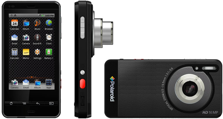 Polaroid SC1630 Smart Camera - фотоаппарат под управлением Android