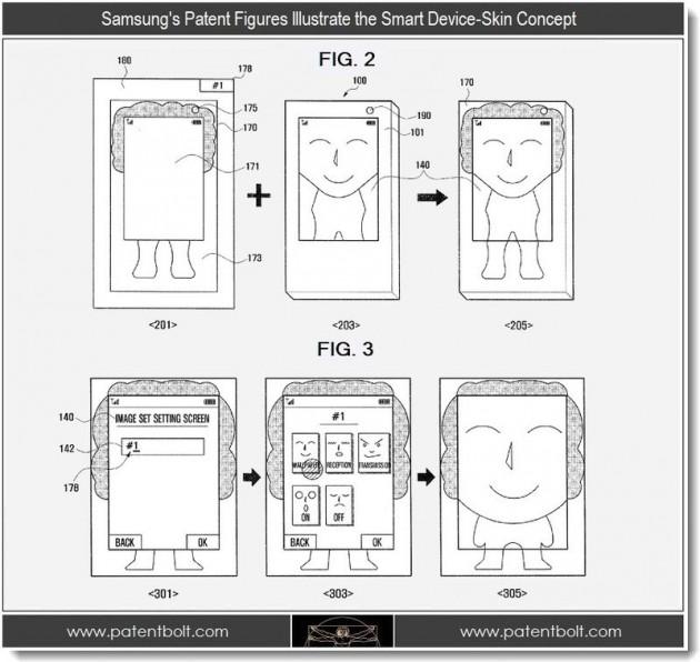 Samsung собирается устанавливать дисплеи на задней крышке и боковых гранях