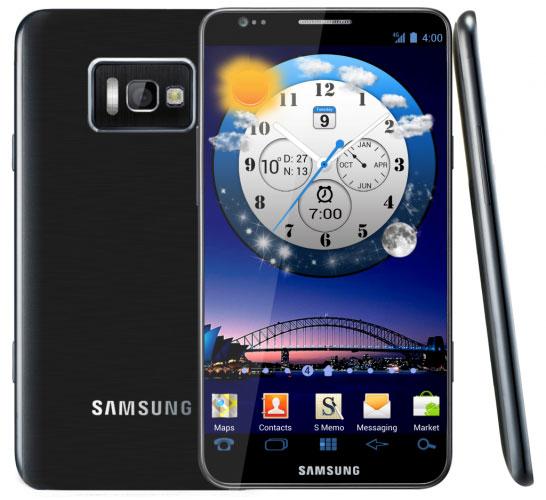 Изображения Samsung Galaxy S III утекшие в сеть - подделка