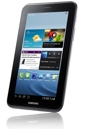 Samsung представила Galaxy Tab 2