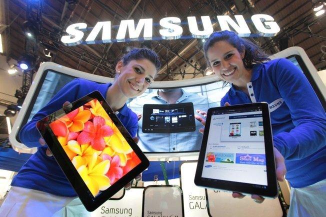 Samsung готовит пару планшетов на Android 4.0 ICS к MWC 2012