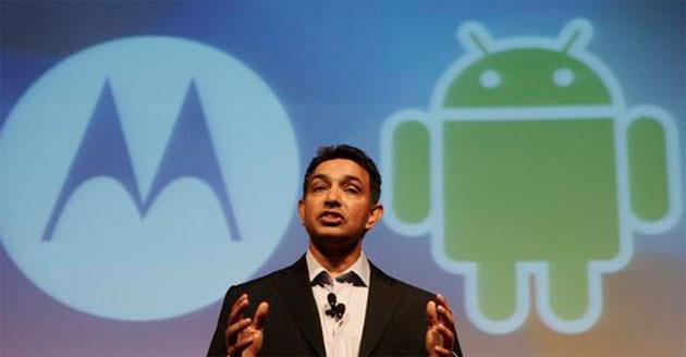 Информация о слиянии Google и Motorola