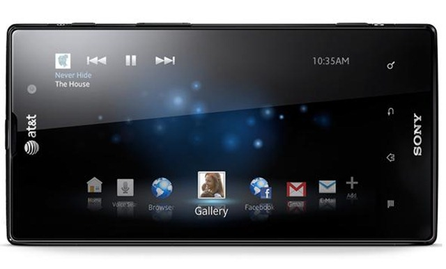 CES 2012 Sony Xperia Ion