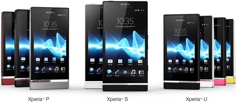 MWC 2012: Sony представила смартфоны Xperia P и Xperia U