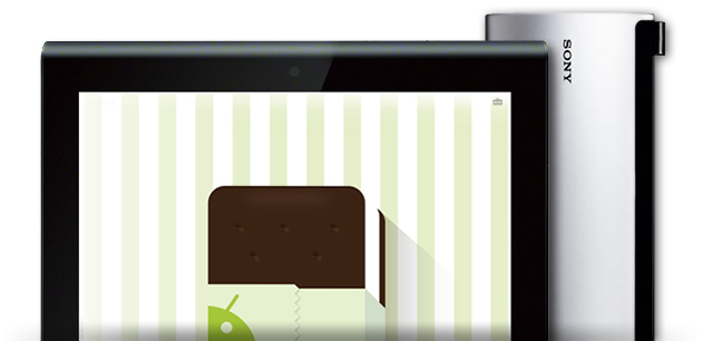 Sony Tablet S и Sony Tablet P получат обновление до Android Ice Cream Sandwich