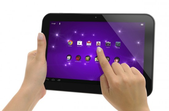 Toshiba показала новый планшет Excite 10 SE