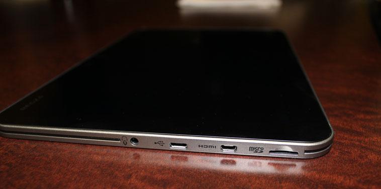 CES 2012: планшет Excite X10 от Toshiba