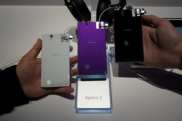 CES 2013: 5-дюймовые Xperia Z и ZL от Sony