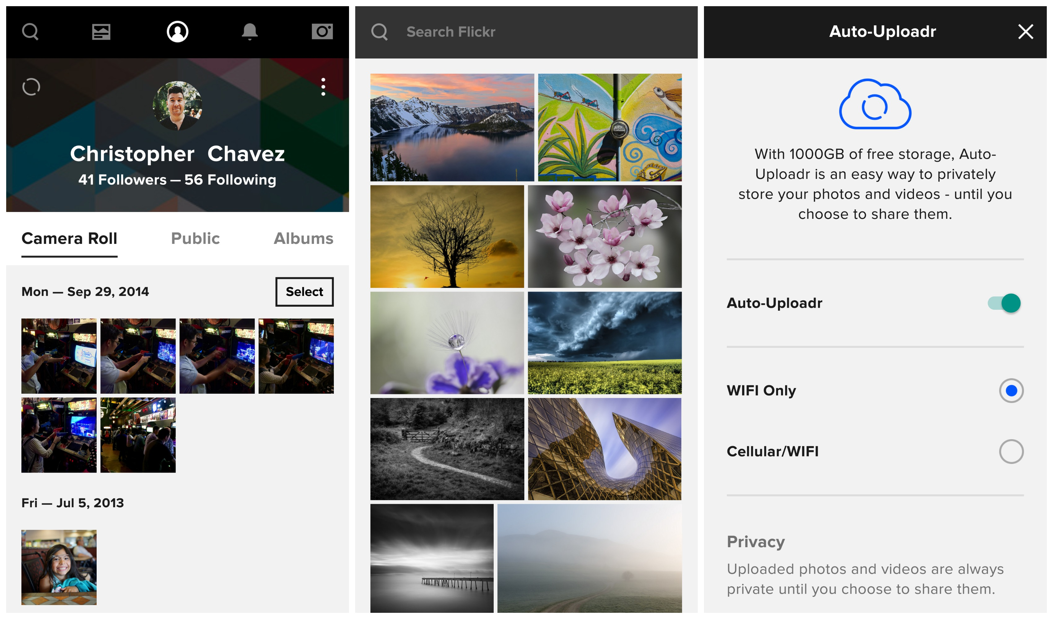 Flickr-4.0-Android-update