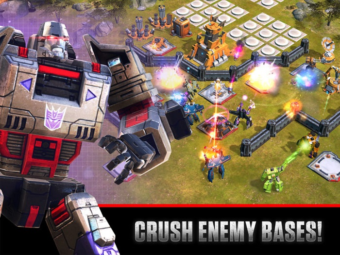 android-игра Transformers Earth Wars