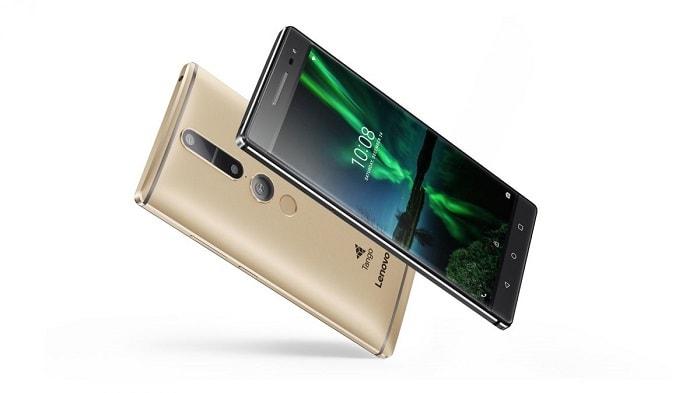 Внешний виде смартфона от Леново PHAB 2 Pro