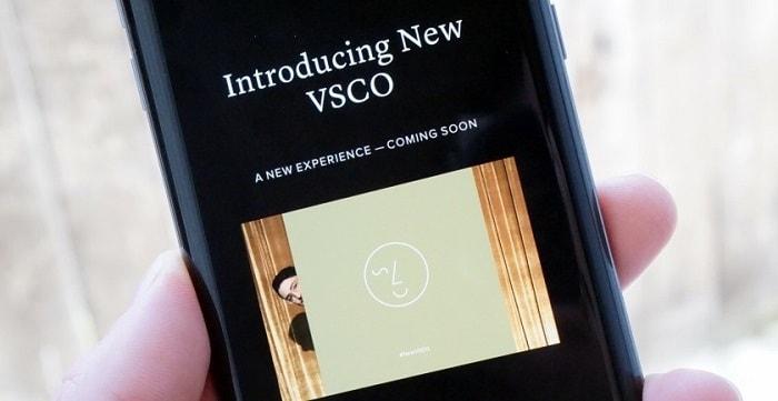 Популярное фотоприложение VSCO полностью изменило дизайн