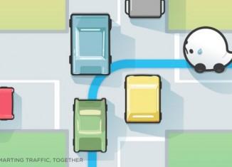 Интерфейс нового приложения Waze
